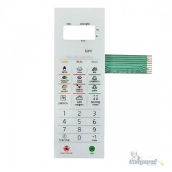 Membrana Teclado Microondas Panasonic NN-ST 369
